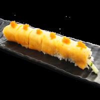 Mango roll crevette tempura