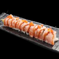 Rainbow roll saumon fumé cheese