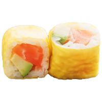 Soja rolls saumon avocat