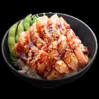 Chirashi saumon tataki