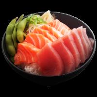 Chirashi mix, saumon, thon